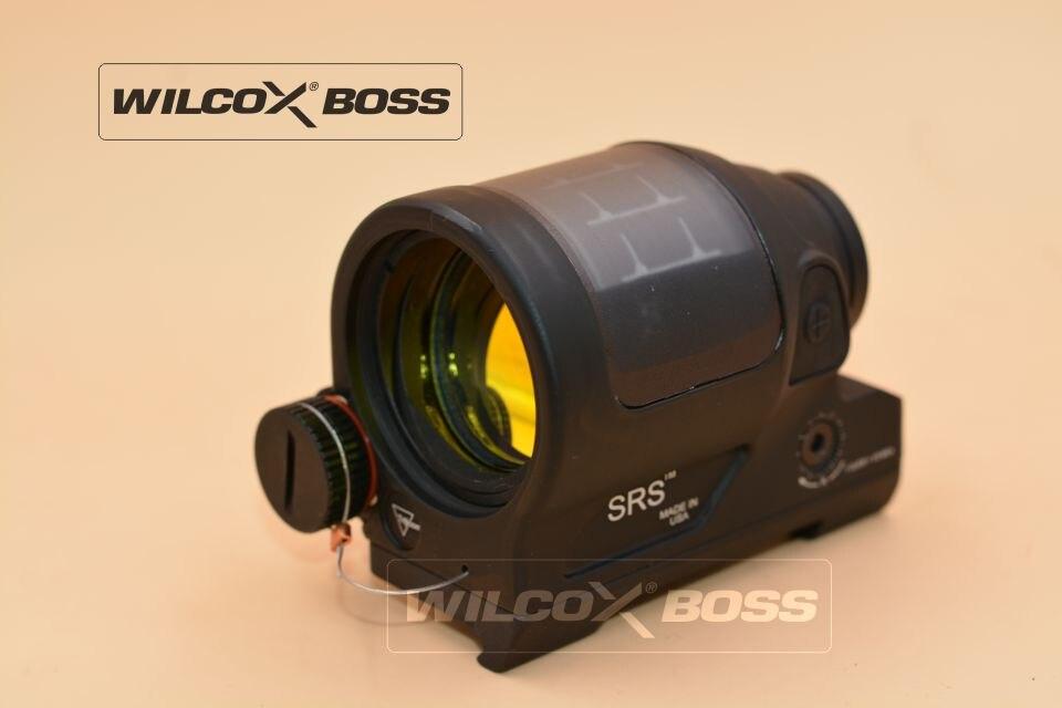 SRS Anblick 1X38 Red Dot Anblick-bereich w/QD Mount Optik Zielfernrohr Taktische Jagd Reflexvisier solar Power System w/killflash