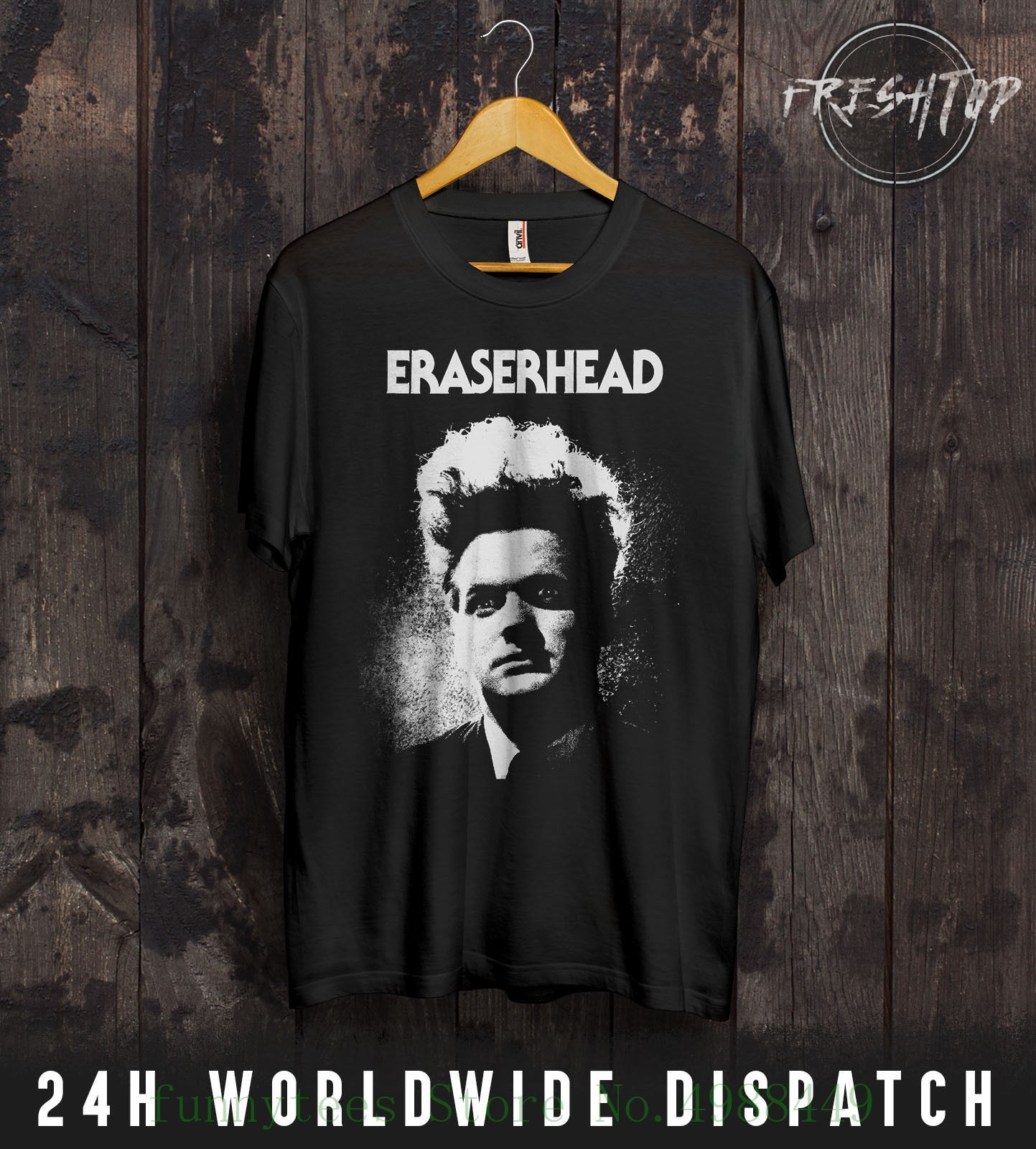 Camiseta Eraserhead de manga corta de algodón para jóvenes de David Lynch Cult Horror película Twin Peaks Gift S - Xxxl