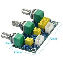 Tube Amplifiers Audio Amplificador Preamp Tone Board Hifi Bass Treble Volume Control Board 3-Channel Subwoofer 2.1 Amplifier  #8