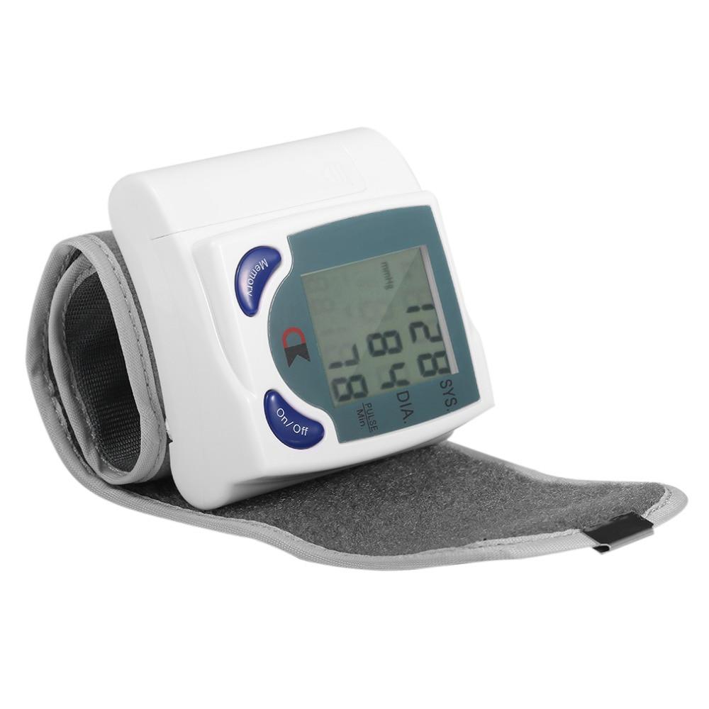 ACEHE Monitores de Cuidados de Saúde Medidor de Pressão Arterial de Pulso Digital LCD Pulso Taxa De Batimento Cardíaco Medida Tonômetro de Esfigmomanômetros