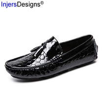 Brand Fashion Tassel Loafers Men Boat Shoes Trendy Casual Men Shoes Slip-On Breathable Driving Shoes