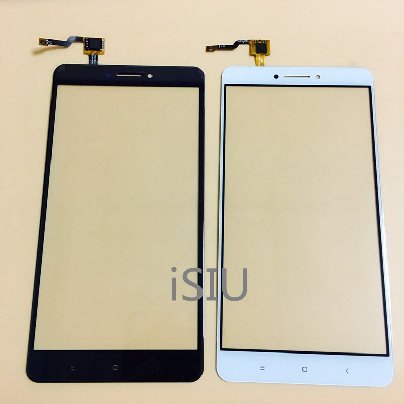 Pantalla táctil LCD para Xiaomi mi Max 2 Panel de pantalla táctil Max2 mi MAX 2 Sensor de lente de vidrio frontal digitalizador piezas de repuesto para teléfono