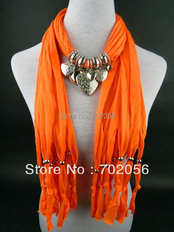 سيدة المرأة مجوهرات والأوشحة الأنيقة قلادة الأوشحة 20 قطعة/الوحدة #2889