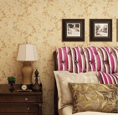 Papel pintado Vintage de Pastoral floral campestre de alta calidad para pared frescura natural para sala de estar dormitorio o pared de fondo