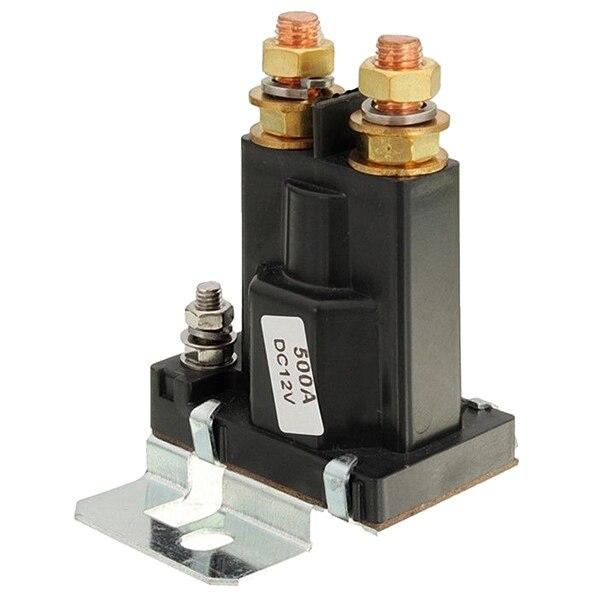 Relé aislador de doble batería, arranque/apagado, 4 pines, 500A, 12 V, para interruptor de alimentación de coche, triangulación de envío