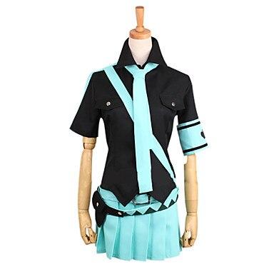 Cosplay disfraz inspirado Voacloid amor es la guerra Hatsune Miku