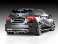 Becquet de coffre daile arrière de voiture   ABS/en Fiber de carbone, pour Benz W176 A Class A180 A200 A250 A45 A45 2013 2014 2015 2016 2017