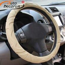 Housses de volants de voiture pour BMW   En Faux cuir de mouton, pour BMW 1 2 3 4 5 X1 X3 X4 X5 X6 série Z4 38CM