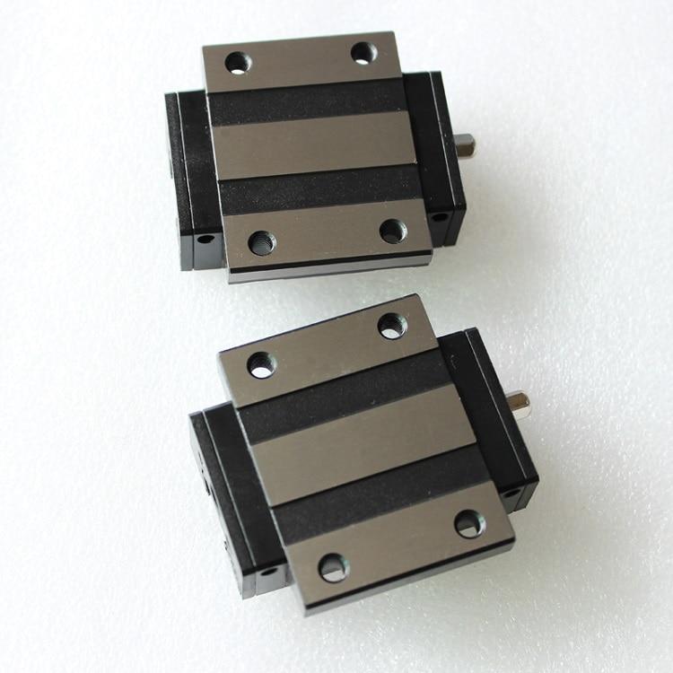 2 قطعة الأصلي تايوان PMI MSA30E-N MSA30ESSFC N الخطي الارشادية الشريحة كتلة النقل ل CO2 الليزر آلة CNC راوتر MSA30E