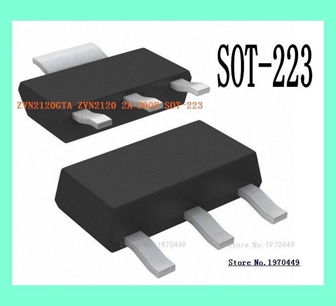ZVN2120GTA ZVN2120 2A 200V SOT-223