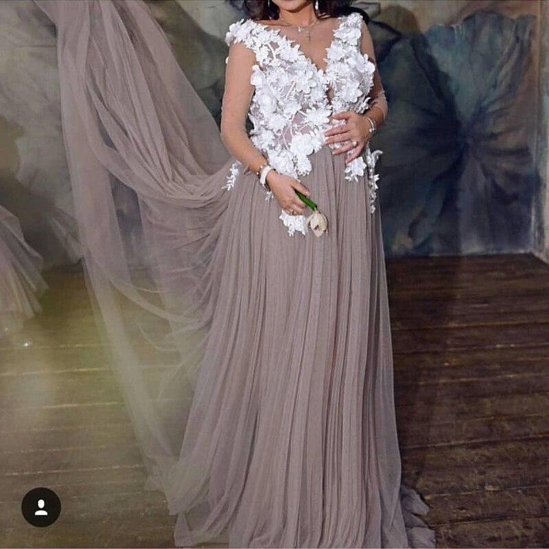 New Arrival Lace Appliques Kaftan Dubai Evening dress 2020 Robe de soiree abendkleider Formal dress evening gowns for women