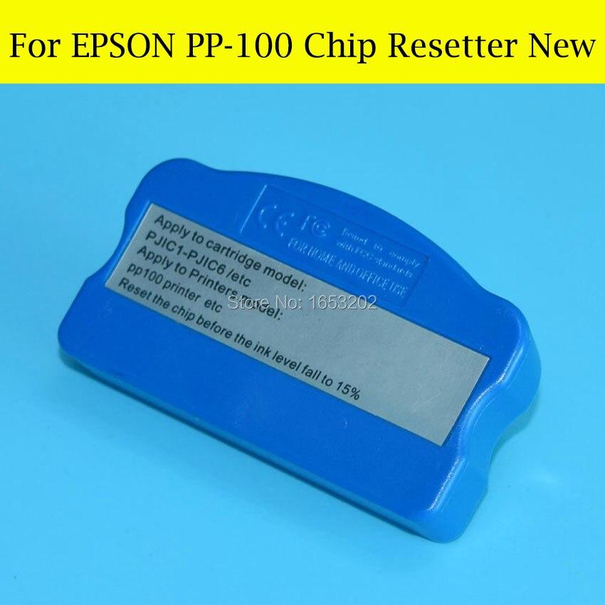Buen resetador de Chip PP100 para Epson PP-100 PP100n PP100II PP-100II PP100ap PP-100N cartucho de tinta Original
