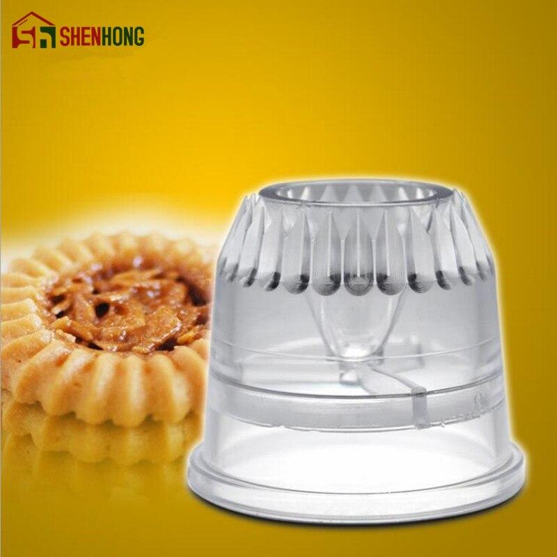 SHENHONG 2PCS/SET Sulta Ne Ring Cookies Mold Plasti Icing Piping Nozzles Sultan tube Russian Cake Pastry Tips Dessert Decorators
