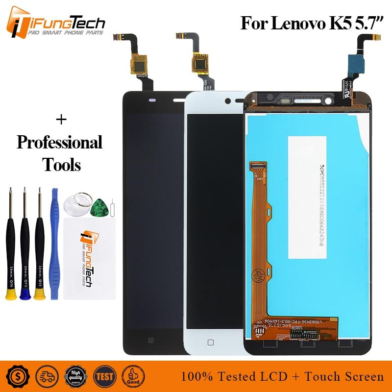 De alta calidad para Lenovo Vibe K5 A6020A40 A6020a41 pantalla LCD de pantalla táctil digitalizador Asamblea