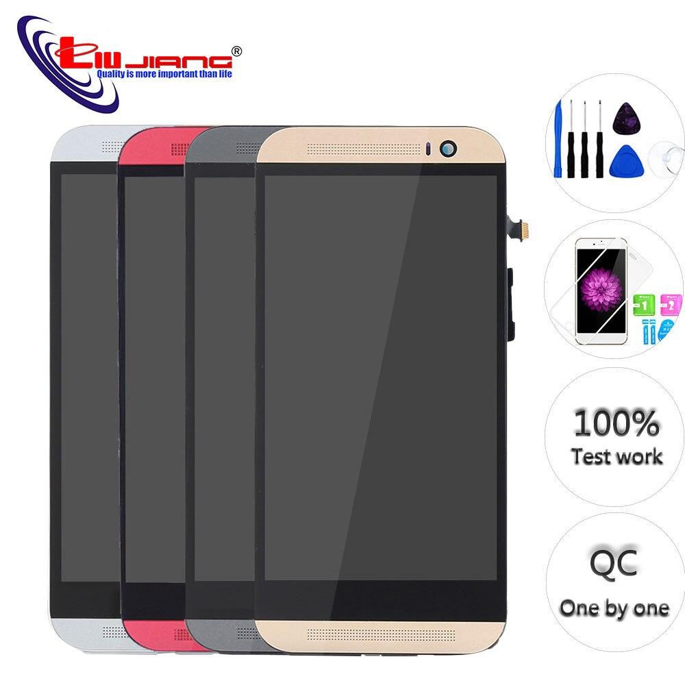Para HTC One (M8) LCD Original 831c pantalla táctil Digitalizador con marco de montaje piezas de repuesto