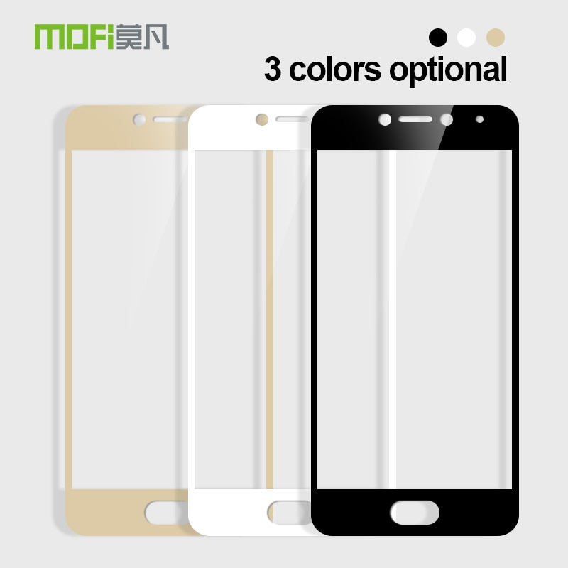 Mofi For Meizu Meilan A5 Tempered Glass 9H Full Cover For Meizu Meilan A5 5.0