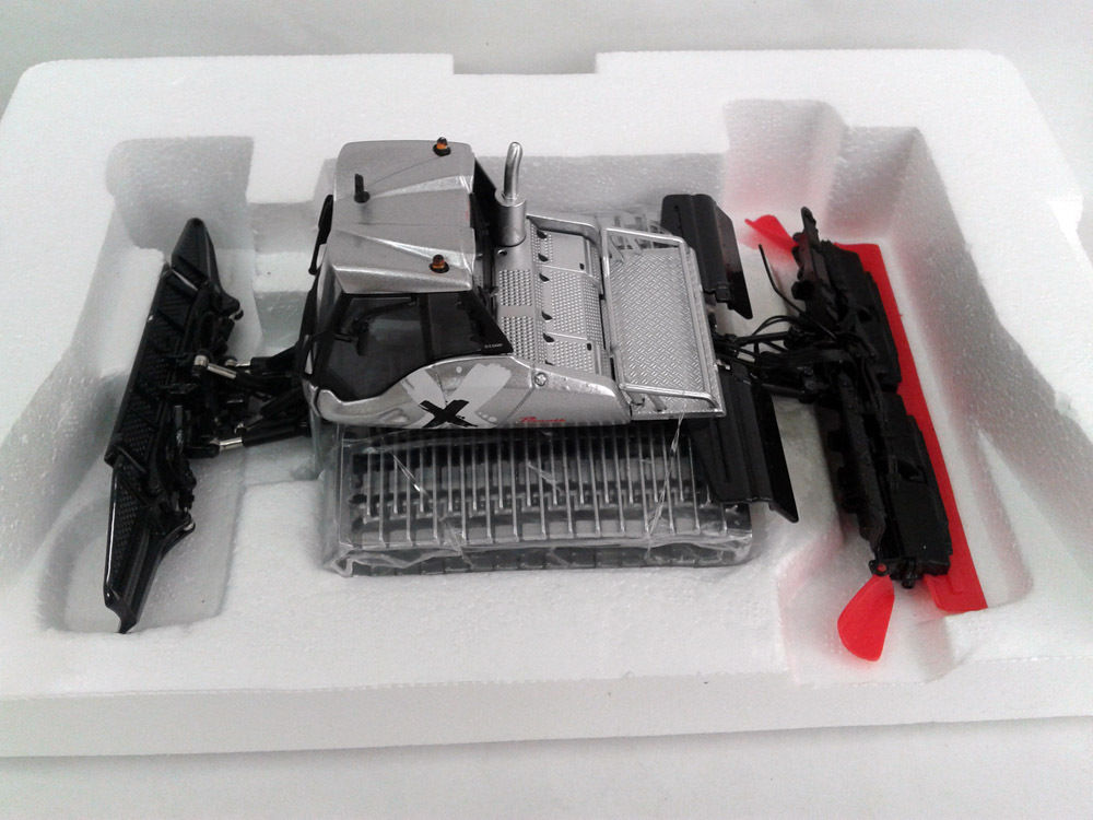 Exquisito ROS 143 Prinoth Leitwolf pista Bully Snow Sweepers maquinaria vehículos juguete fundido modelo para decoración de colección
