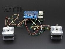 Stepper Motor B + Roboter Expansion Board Servo HUT für Raspberry Pi 3 PI 2-Mini Kit