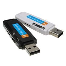 USB 2.0 numérique Audio enregistreur vocal Dictaphone lecteur Flash u-disk convertisseur U disque en forme USB stylo denregistrement adaptateur TF