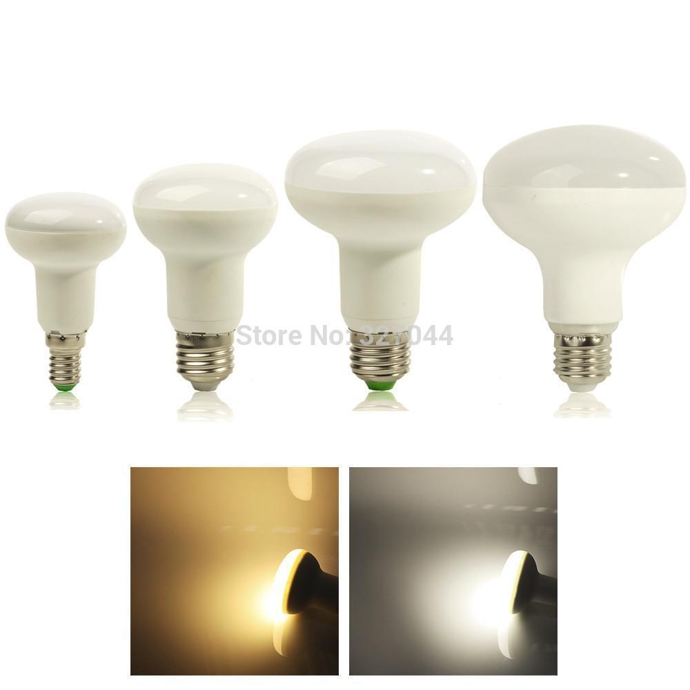 50pcs 5730 E27 e14 blue 7W 10W 14W 15W 180 Degree Umbrella lighting SMD5730 AC85V265V R63 R80 R90 R50 LED BULBS