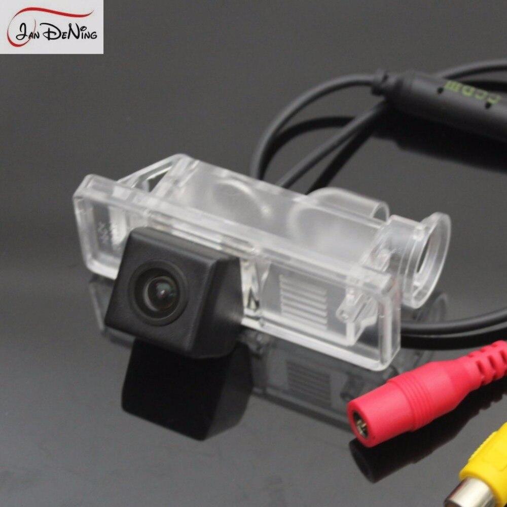 JanDeNing HD CCD aparcamiento retrovisor de coche/cámara reversa de respaldo/luz de matrícula OEM para Mercedes Benz clase V (Japón) 2003-2013