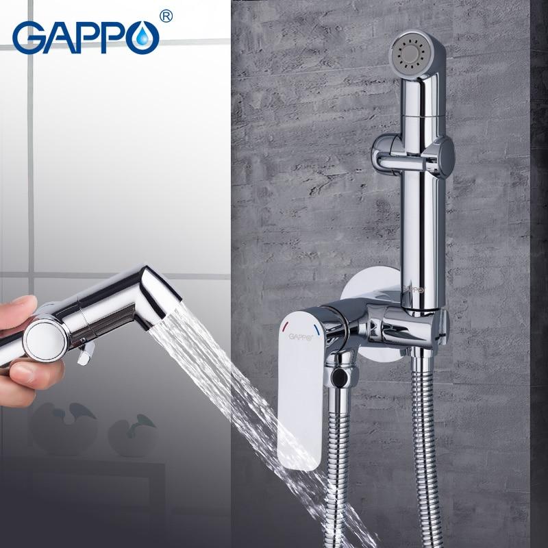 GAPPO-صنبور دش الحمام ، صنبور بيديت مثبت على الحائط ، دش حمام إسلامي