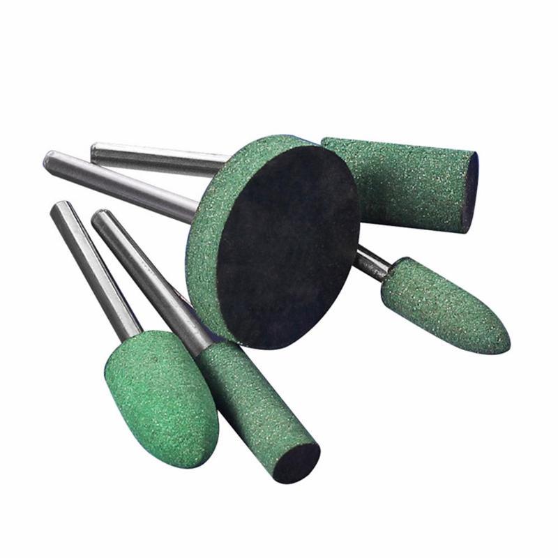 5 uds cabezal de molienda de punto montado en goma para acabado de - Herramientas abrasivas - foto 6