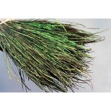 Tigofly 400 brins naturel paon Herl plume pour nymphes banderoles humides mouches côtes corps mouche attachant matériaux 10-20 cm longueur