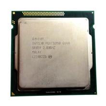 Intel Pentium G640 cpu 3 M/2.80 GHz LGA 1155 TDP 65 W H61 B75 81 B85 carte mère ont un Pentium Dual Core g2030 cpu vente