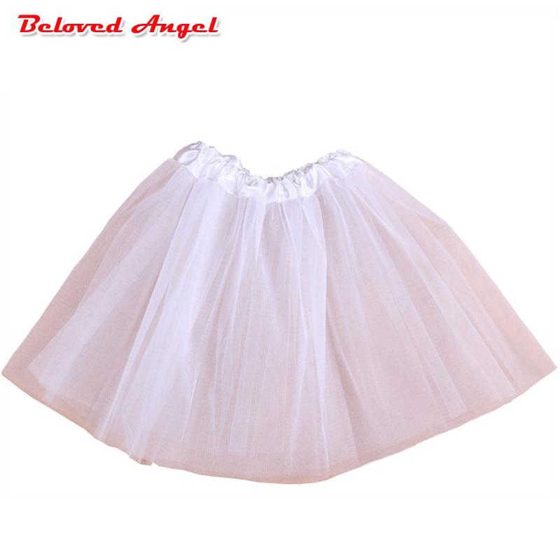 Baby Girls Tutu Skirts Kids Elastic Waist Pettiskirt Girl Princess Tulle Skirt Colorful Ball Gown Skirts Children Clothes 0-8yrs