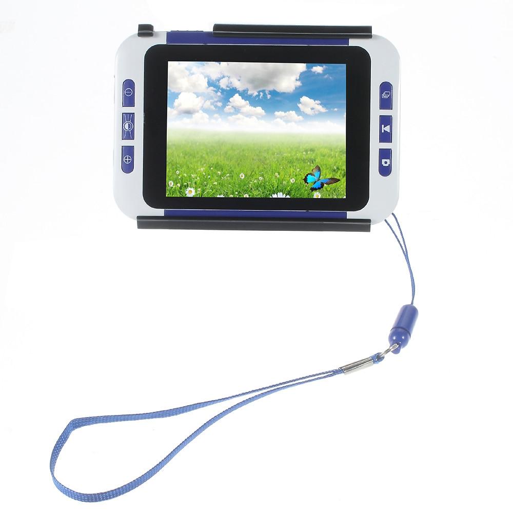 "3.5 ""lcd portátil leitura digital visão de vídeo lupa visão-ajudando 2x-32x"