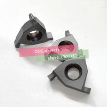 10 PZ 16IR/EL 0.8/1.0/1.2/1.4/1.5/1.6/1.8/2.0mm.carbide inserto tornitura, inserti da taglio, lama fessura, per Scanalatura Holder SER/SNL
