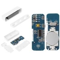 Detecteur de mouvement magnetique sans fil WiFi blanc  capteur de barriere dalarme pour la securite de la maison  systeme dalarme de porte