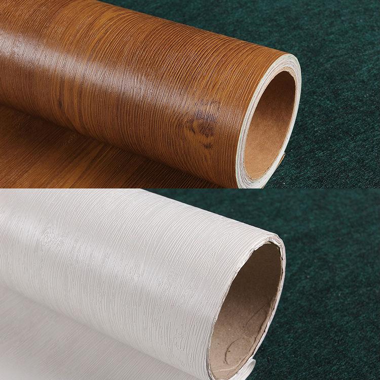 Waterproof wood furniture renovation stickers self-adhesive wallpaper wallpaper wall paper foil furniture wardrobe door