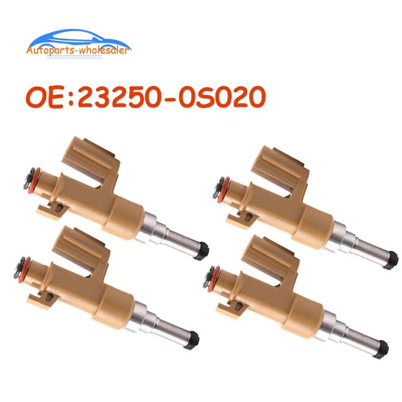 4 pcs/lot OEM 23250-0S020 232500S020 For Toyota Tundra Sequoia 5.7L V8 23209-0S020 23250-38040 23209-09150 Fuel Injectors Car