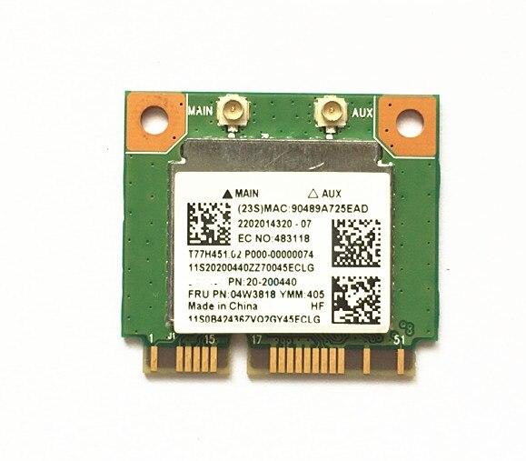 SSEA Wholesale New Realtek RTL8723BE wifi Bluetooth 4.0 For Lenovo Thinkpad E440 E540 S440 S540 FRU: 04w3818