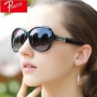 psacss 2019 new oval vintage sunglasses women oversized fashion brand designer sun glasses for womens mirror gafas de sol uv400