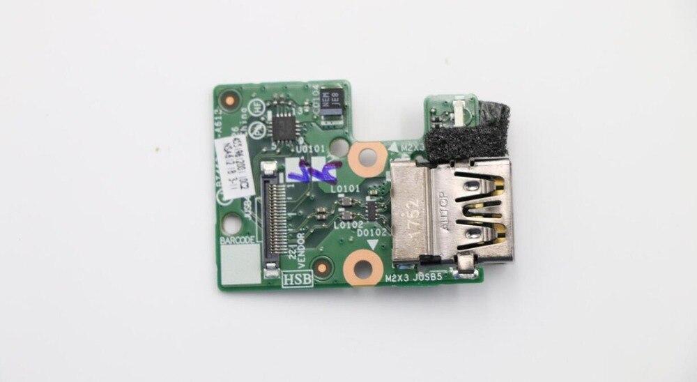 جديد لجهاز Lenovo ThinkPad T460P T470P I/O لوحة USB بمنفذ USB 01AV908