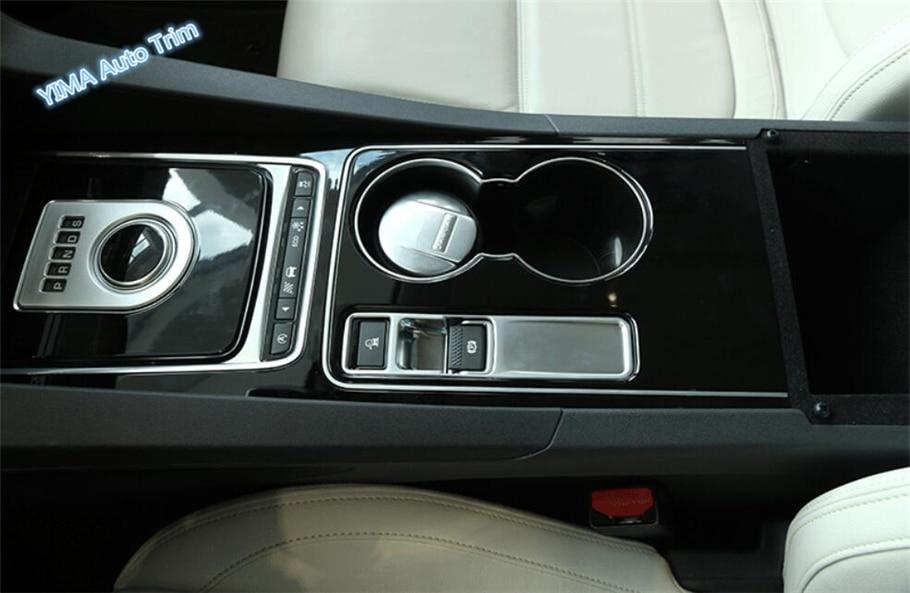 "Lapetus Auto Styling freno de mano eléctrico de estacionamiento/""P"" Stalls cubierta ajuste para Jaguar XF 2016 2017 2018 2019 ABS"