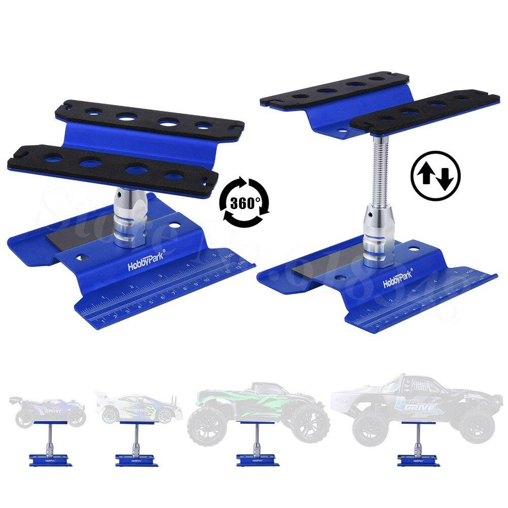 Soporte de trabajo para estación de trabajo de coche RC de aluminio metálico rotación de 360 grados para el modelo de escala 1/8 1/10 1/12 1/16