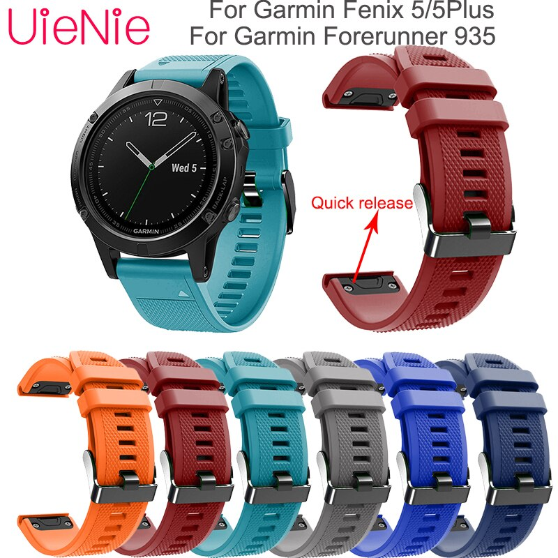 For Garmin Fenix 5/5Plus smart watch Frontier/classic Quick release wristband strap For Garmin Forerunner 935 smart bracelet