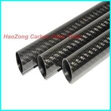 1-10pcs 10 millimetri ODX 8 millimetri IDX 500mm 3k tubo In fibra di Carbonio/Carbonio ala tubi/fornitore/tubo di 10*8 (prese di Fabbrica) fornitore di fibra di carbonio