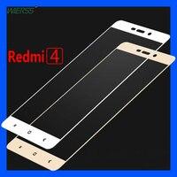 2.5D изогнутое закаленное стекло с полным покрытием, Защитная пленка для экрана Xiaomi Redmi 4 Pro Prime Redmi Note 4 Pro Prime Redmi 4X