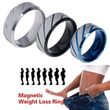 Magnetic Medical Anti Cellulite Ring Lose Weight Slimming Products Fitness Reduce Weight Ring Magnet