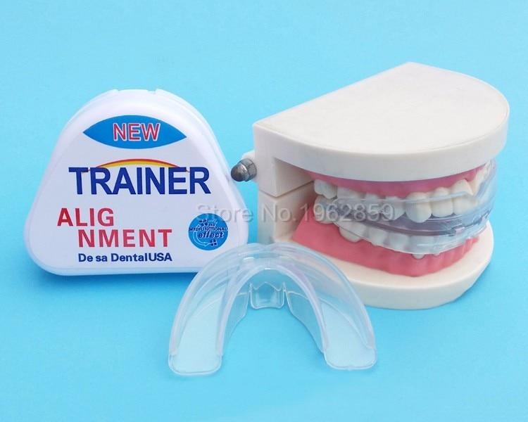 1 шт. Новая обновленная версия без запаха зубные скобы стоматологический зуб ортодонтический бытовой Тренер выравнивание скобы уход за зуб...