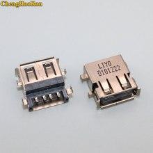 ChengHaoRan-connecteur de jack USB 2.0   5-20 pièces pour Lenovo G450 G455 G460 G530 G560 G565 Z460 Z465 Z560 Z565 N500 G460AX
