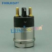 ERIKC injecteur de carburant F00RJ02697   Pièces de Rail commun F00R J02 697, ensemble de électrovanne Assy F 00R J02 697 la vanne électromagnétique