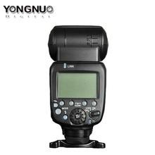 Mise à niveau Yongnuo YN600EX-RT II sans fil Flash Speedlite TTL Radio esclave Master synchronisation haute vitesse HSS pour appareil photo Canon as 600EX-RT