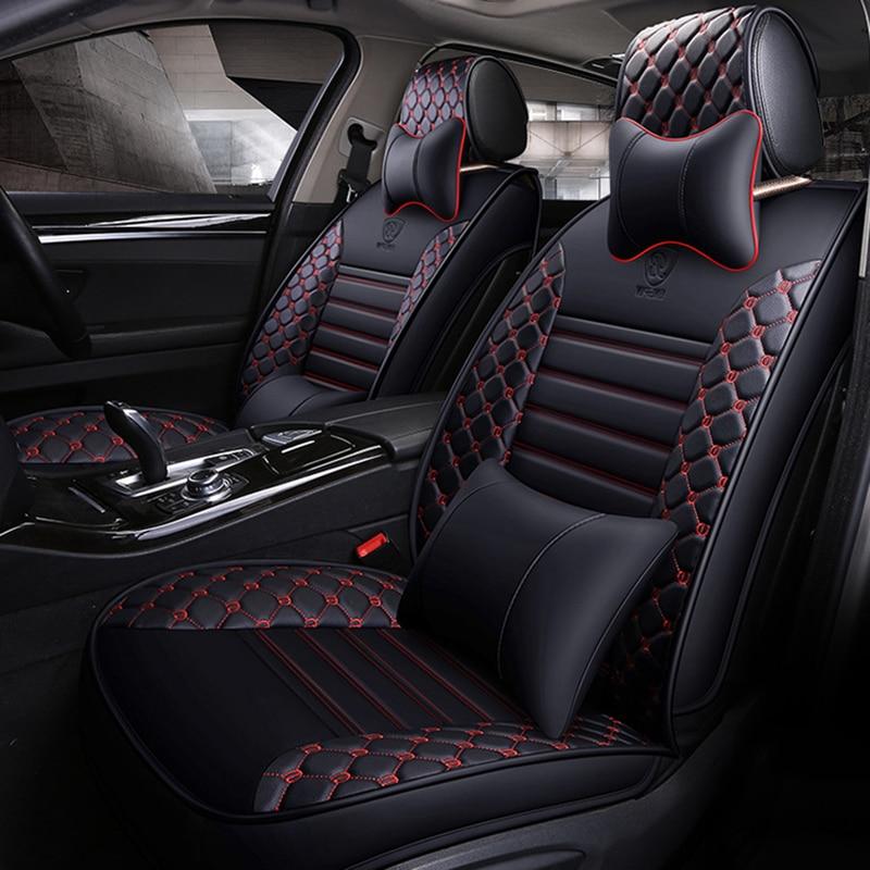 Высокое качество кожаный чехол для сиденья автомобиля для mercedes Benz w204 w211 w210 w124 w212 w202 w245 w163 аксессуары для сидений автомобиля
