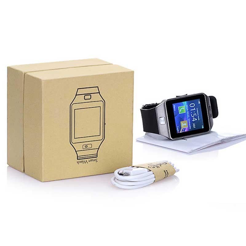DZ09 smart watch SIM/TF bluetooth for apple/Android phone smartwatch iphone/samsung Huawei PK U8GT08 wrist watch Multi language